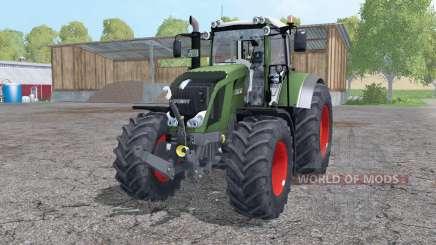 Fendt 822 Vario twin wheels для Farming Simulator 2015