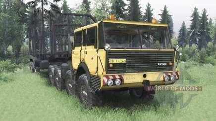 Tatra T813 TP 8x8 1967 v1.4.1 для Spin Tires