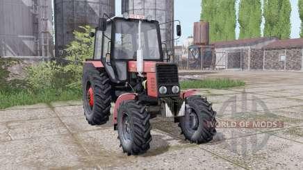 МТЗ 82.1 Беларус aнимация частей для Farming Simulator 2017