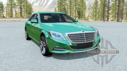 Mercedes-Benz S 500 (W222) 2013 для BeamNG Drive