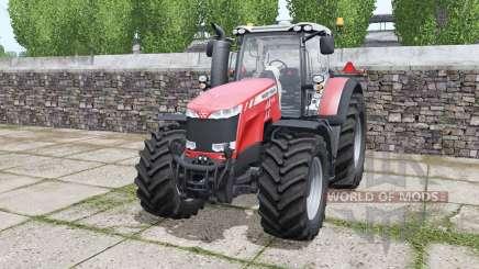 Massey Ferguson 8732 More Realistic для Farming Simulator 2017