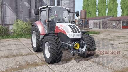 Steyr Multi 4095 2013 dynamic hoses для Farming Simulator 2017