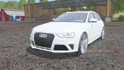 Audi RS 4 Avant (B8) 2012 для Farming Simulator 2015
