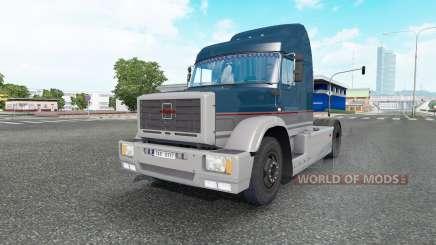 ЗиЛ ММЗ 5423 тёмно-синий для Euro Truck Simulator 2
