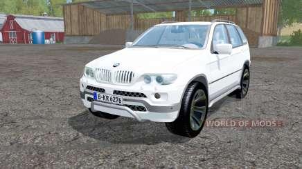 BMW X5 (E53) 2004 для Farming Simulator 2015