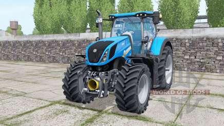New Holland T7.315 with options для Farming Simulator 2017