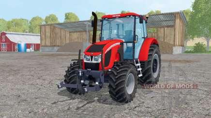 Zetor Forterra 140 HSX loader mounting для Farming Simulator 2015