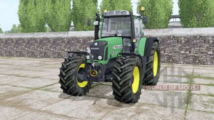 Fendt 820 Vario TMS choice wheels для Farming Simulator 2017