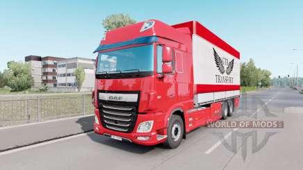 DAF XF Space Cab Tаndem для Euro Truck Simulator 2