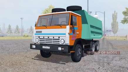 КамАЗ 5511 анимация частей для Farming Simulator 2013