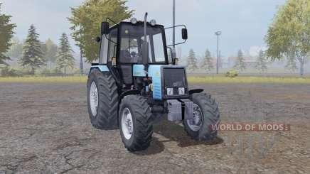 МТЗ 1025 Беларус мягко-синий для Farming Simulator 2013