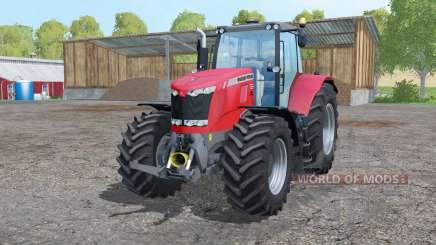 Massey Ferguson 7626 twin wheels для Farming Simulator 2015