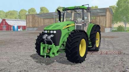 John Deere 7920 wheels weights для Farming Simulator 2015