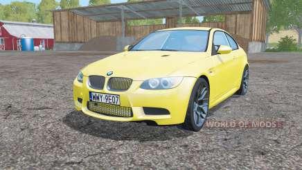 BMW M3 coupe (E92) для Farming Simulator 2015