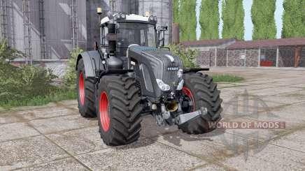 Fendt 924 Vario Black Beauty для Farming Simulator 2017