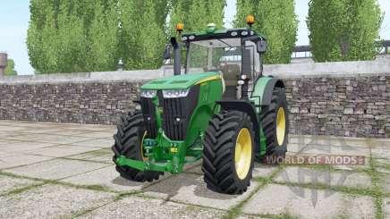 John Deere 7215R Europe Version для Farming Simulator 2017