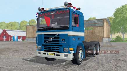 Volvo F12 Intercooler tractor 1987 для Farming Simulator 2015