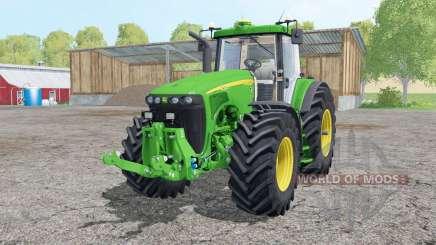 John Deere 8520 interactive control для Farming Simulator 2015