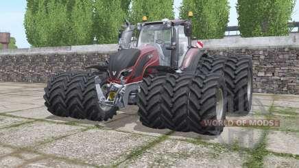 Valtra T174e triple wheels для Farming Simulator 2017