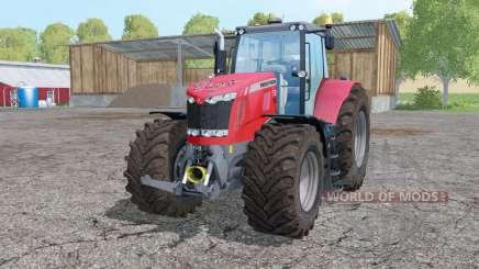 Massey Ferguson 7626 interactive control для Farming Simulator 2015