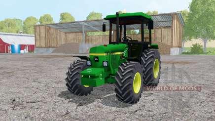 John Deere 2850 A front loader для Farming Simulator 2015