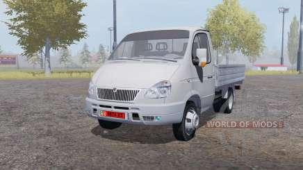 ГАЗ 3302 ГАЗель 2003 v2.0 для Farming Simulator 2013