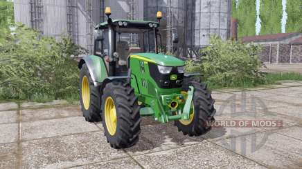 John Deere 6115M interactive control для Farming Simulator 2017