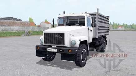 ГАЗ САЗ 35071 с выбором двигателя для Farming Simulator 2017