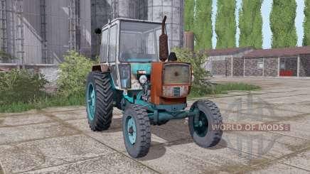 ЮМЗ 6КЛ задние сдвоенные колёса для Farming Simulator 2017
