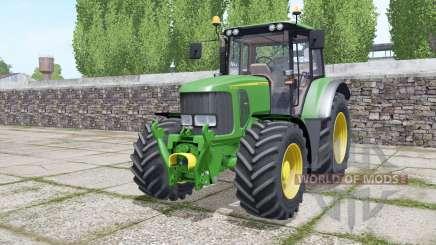 John Deere 6330 Michelin tires для Farming Simulator 2017