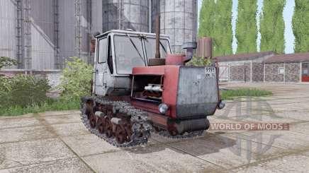 Т-150-09 ненасыщенно-красный для Farming Simulator 2017