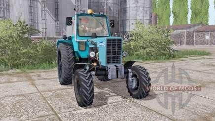 МТЗ 82 Беларус задние сдвоенные колёса для Farming Simulator 2017