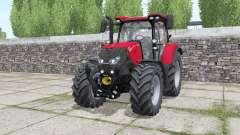 Case IH Maxxum 115 CVX wheels selection для Farming Simulator 2017