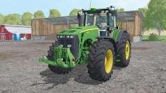 John Deere 8530 extra weights для Farming Simulator 2015