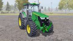 John Deere 7200R interactive control для Farming Simulator 2013
