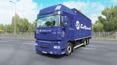 DAF XF105 Super Space Cab Tandem v6.5 для Euro Truck Simulator 2