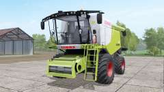 Claas Lexion 670 4x4 для Farming Simulator 2017