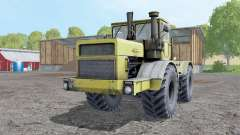 Кировец К-700А мягко-жёлтый для Farming Simulator 2015
