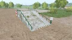 Large loading ramp для Farming Simulator 2017