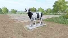 Скульптура коровы для Farming Simulator 2017