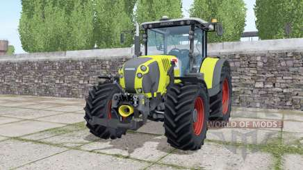 Claas Arion 650 loader montieren для Farming Simulator 2017