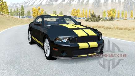 Shelby GT500 v1.1 для BeamNG Drive