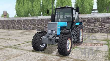 МТЗ 820.2 Беларус ярко-голубой для Farming Simulator 2017