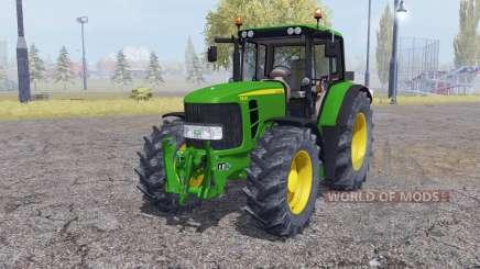 John Deere 6830 Premium interactive control для Farming Simulator 2013