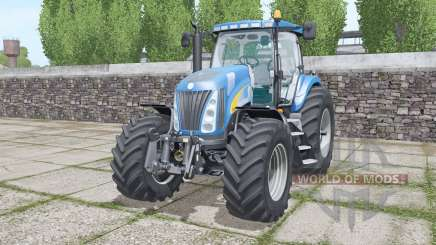 New Holland TG285 moving elements для Farming Simulator 2017
