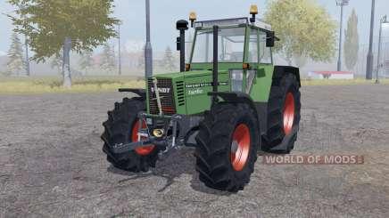 Fendt Favorit 615 LSA Turbomatic double wheels для Farming Simulator 2013