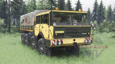 Tatra T813 TP 8x8 1967 v1.5 для Spin Tires
