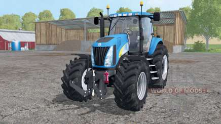 New Holland TG 285 wheels weights для Farming Simulator 2015