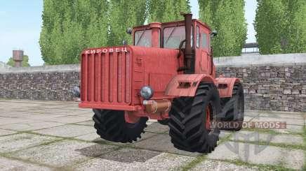 Кировец К-700 красный для Farming Simulator 2017