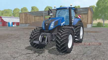 New Holland T8.420 animation parts для Farming Simulator 2015